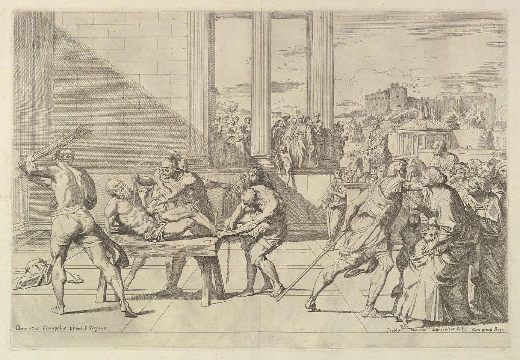 Martyrdom of St. Andrew by Carlo Maratti