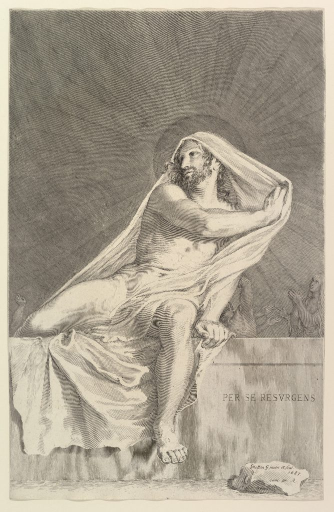 The Resurrection by Claude Mellan
