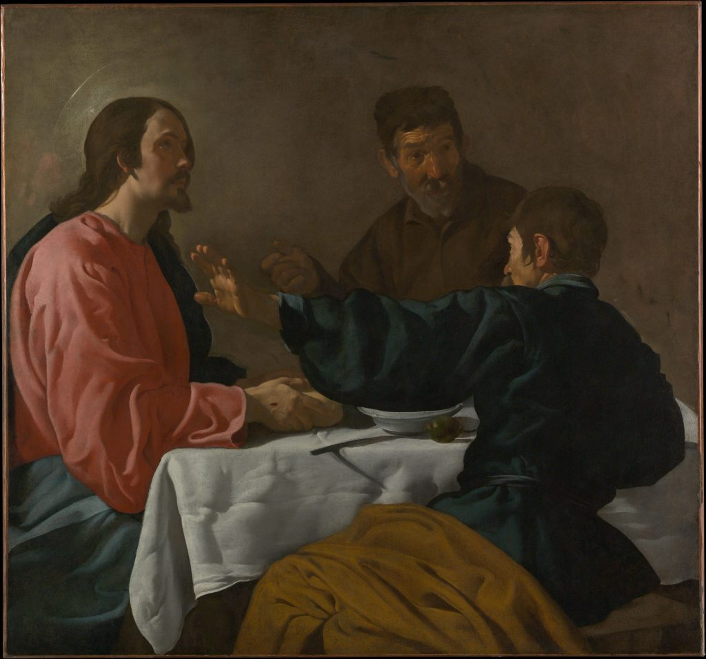 Supper at Emmaus by Velazques