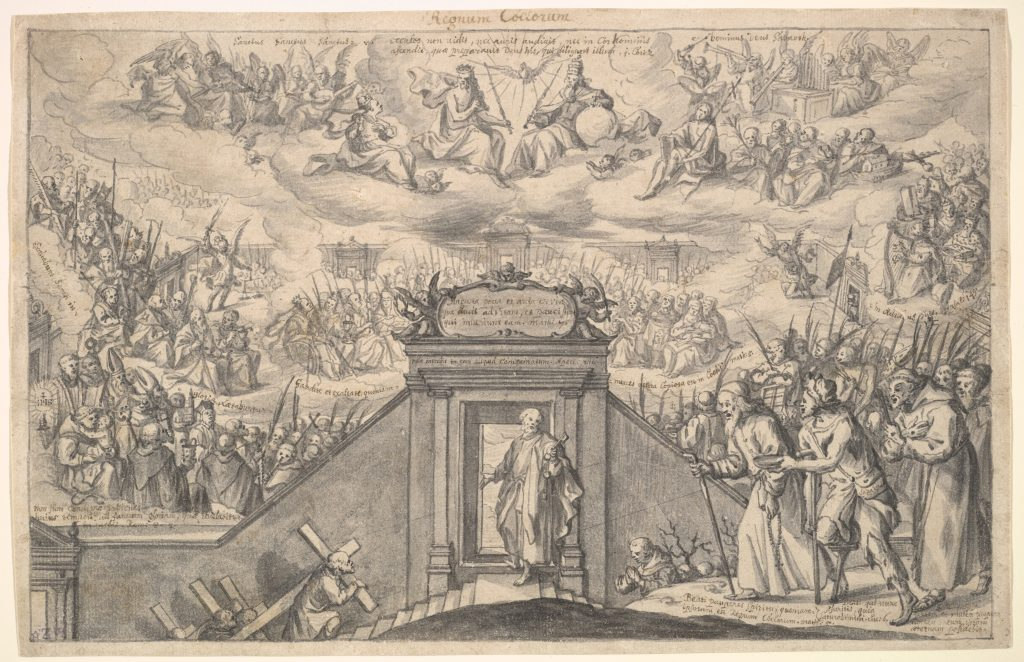 The Reign Of Heavens Anonymous Late 17th Century Image in the Public Domain